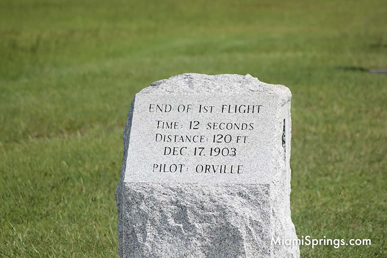 1st Flight by Orville Wright on Dec 17, 1903