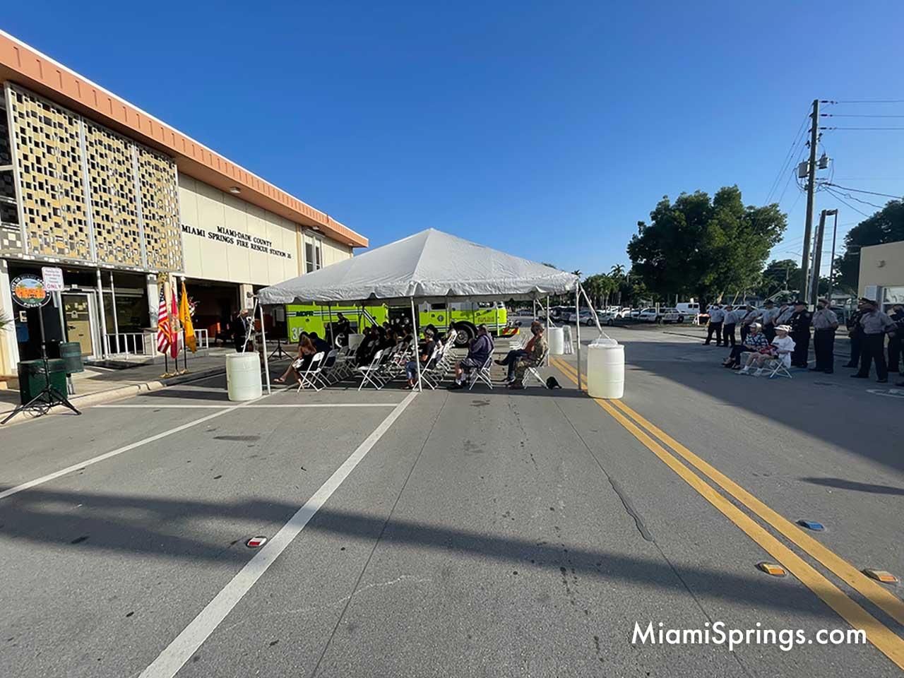 Miami Springs September 11 Ceremony