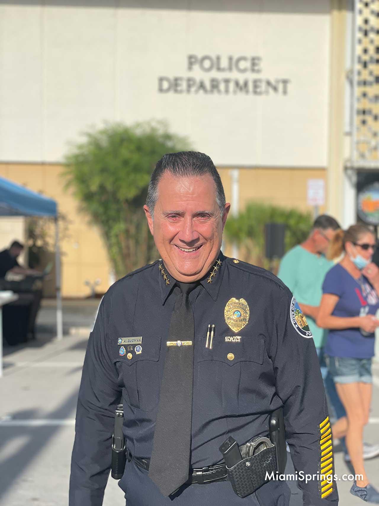 Miami Springs Police Chief Armando Guzman