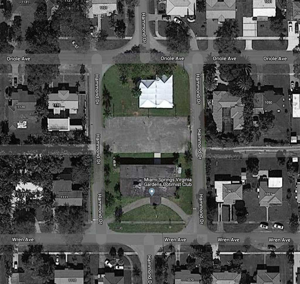 Former Miami Springs / Virginia Gardens Optimist Club Property