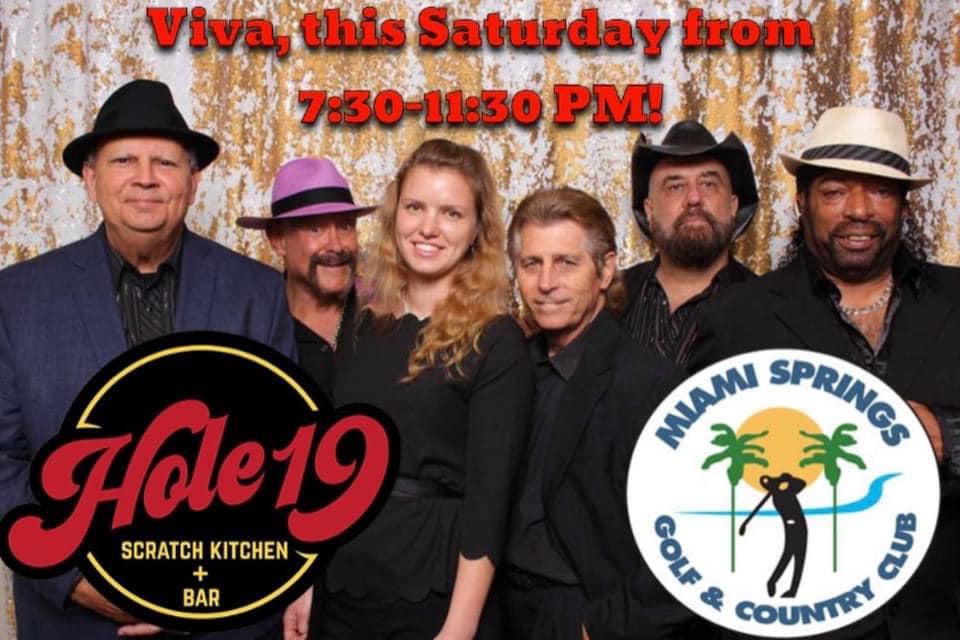 VIVA Classic Rock this Saturday at Hole 19