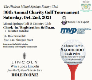 36th Annual CharityGolf Tournament