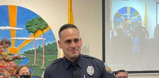 Miami Springs Police Officer Fenicett Iribar