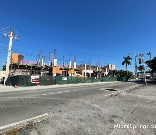 51 New Apartment Adding Density to Dowtown Miami Springs
